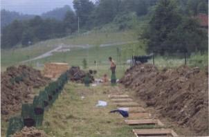 Srebrenica Memorial at Potocari