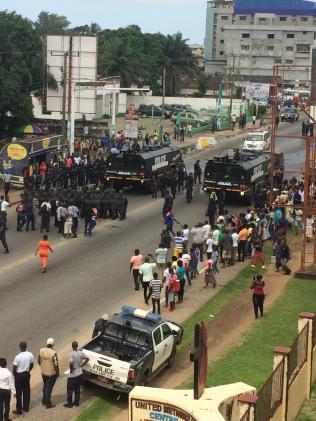 Monrovia, Liberia 2017