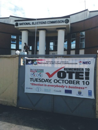 National Election Commission (NEC), Liberia 2017